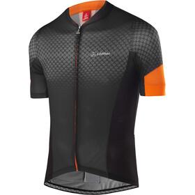 Löffler Pro Vent Koszulka kolarska, krótki rękaw Mężczyźni pomarańczowy/czarny